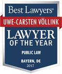 best lawyers lawyer of the year uwe carsten voellink 2016